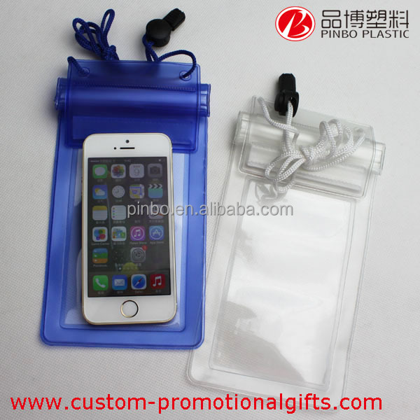 pvc waterproof phone pouch,high quality ip67 mobile phone waterproof fabric for bags