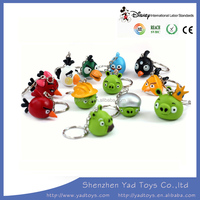 Hot birds movie keychain toys for kids Plastic toys