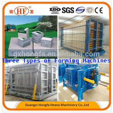 sound proof partition eps wall panel production / forming machine