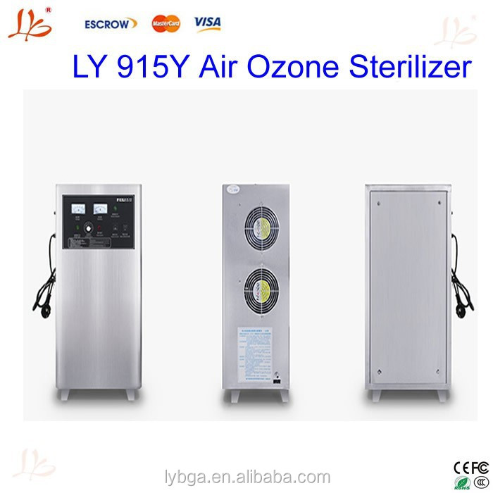 LY 915Y ozone sterilizer 15g/h for car,house room,food,air