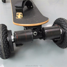 2017 newest portable electric off road skateboard 2 motors standing hoverboard for sale
