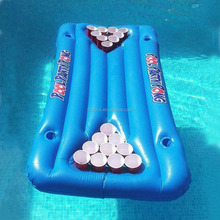 inflatable beer pong table pool float drink raft