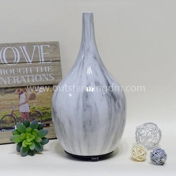 Wholesale Aromatherapy Diffuser Marble Finish Ceramic Aroma Diffuser USB Aroma Diffuser