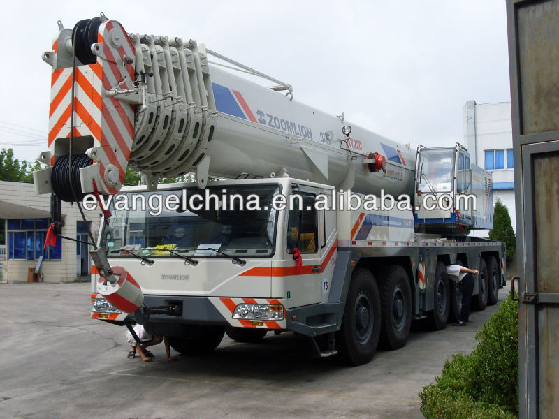 Mobile Crane Dubai : All terrain crane ton qay zoomlion mobile cranes for