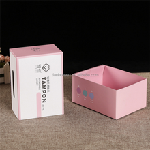 White Kraft Paper Foldable Card Package Boxes Drawer box Cardboard Gift Packing Box