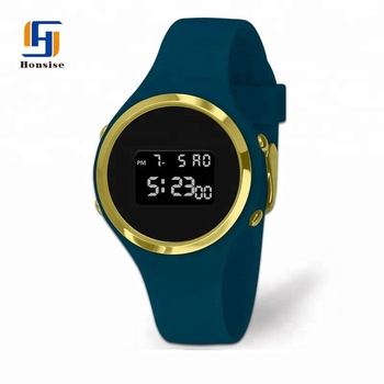 Alibaba Express Wholesale Product Silicone Lcd Watch Luxury Style Watches Men Gold Luxury