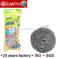 SS 410 blister card kitchen stainless steel scourer with best quanlity