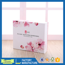 new design Customized medicine paper packaging box