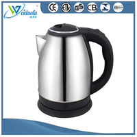 High quality stainless steel electric kettle 1.2L /1.5L /1.8L