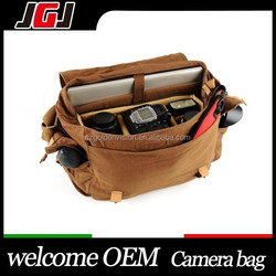 Camera Bag Vintage Canvas Shoulder Camera Bag For Nikon D750 D3200 For Canon 50D 30D For Pentax K-3 K-5