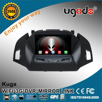 Cheap price For Kuga 8 inch 2 din android 4.4 car stereo dvd player with gps 3g mirror link
