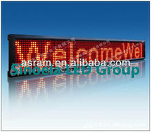 Electronic wireless scrolling/running text/message RS232/RS485 p10 programmable led moving message sign billboard panel