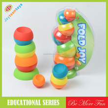 JTE41082 cheap stacking cups best educational toy for kids