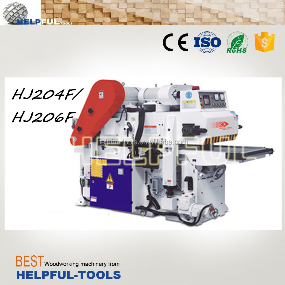 Helpful Brand Shandong Weihai 2-side planer moulder, double side planer wood moulder