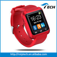2016 low price china mobile phone fashion u8 smart watch heart rate monitor and gps child watch