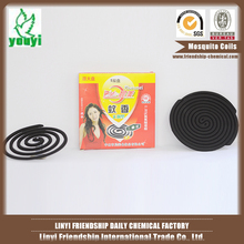 Strong effect black smokeless mosquito coil/green mosquito incense coil
