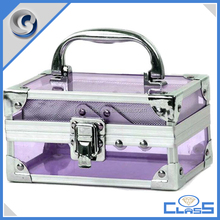 MLD-AC3298-32 Portable latest hand acrylic transparent vanity case