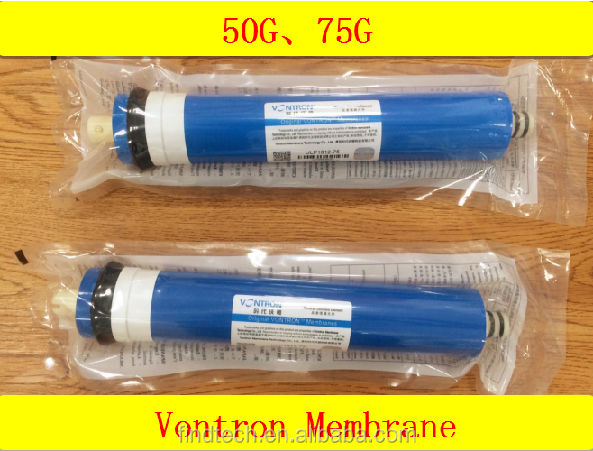 Hot sale vontron membrane for reverse osmosis water filter household water purifier use
