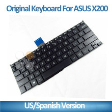 NEW Laptop US Keyboard For ASUS X200CA X200LA X200MA Black&White 9Z.N8KSQ.901 Tested