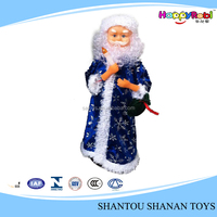 Christmas musical rotating toy gift item russia old man musical toy