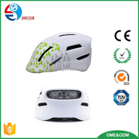 CITY HELMET high-end bicycle helmet with light