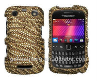 Sparkling TIGER SKIN Full DIAMOND Bling Case for BlackBerry CURVE 9350/9360/9370