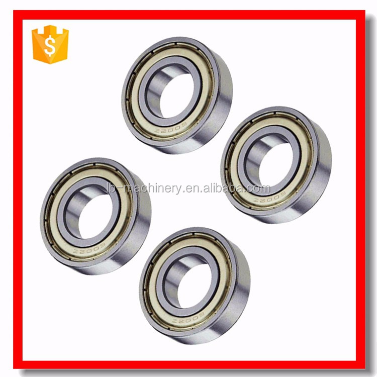 chrome steel 16009 16010 open ball bearing low price list