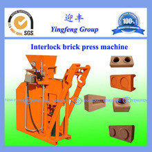 Easy to operate kenya soil cement interlocking brick making machine YF1-25