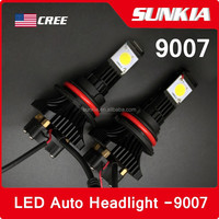 1800lm Replacing Halogen HID 9007 H13 led car headlights