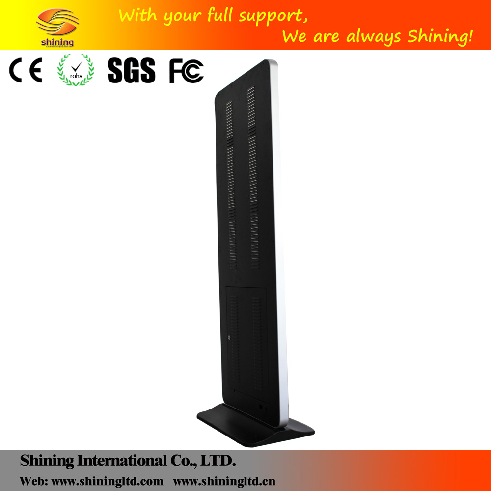 "Floor standing 32"" interactive digital signage touch screen all in one pc SH3275AIO-T"