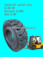 forklift solid tire/forklift tire/rubber wheels
