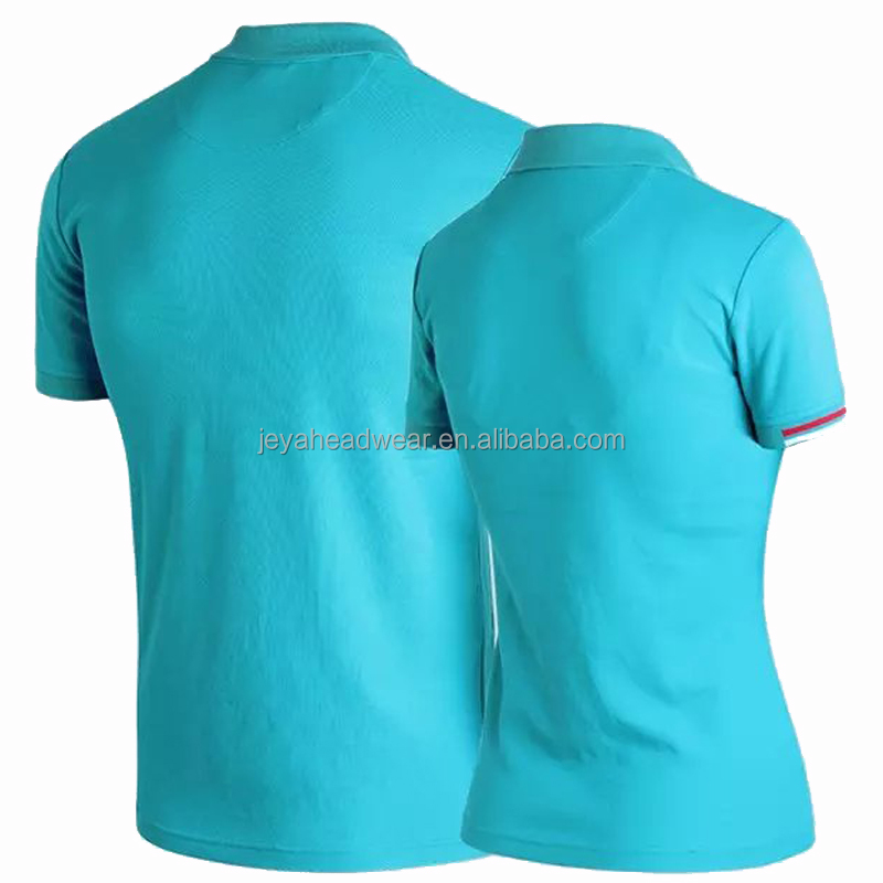 100 Cotton honeycomb polo t shirt for men
