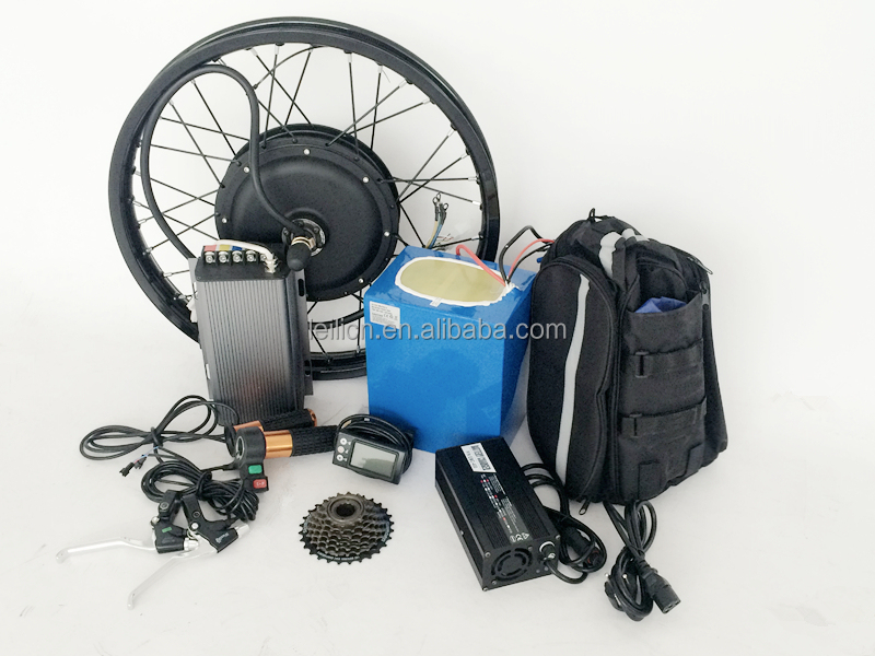 80kph 5kw electric motorcycle conversion kit 140N.M 48V - 72V