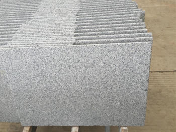 G603 Light grey flamed Granite steps