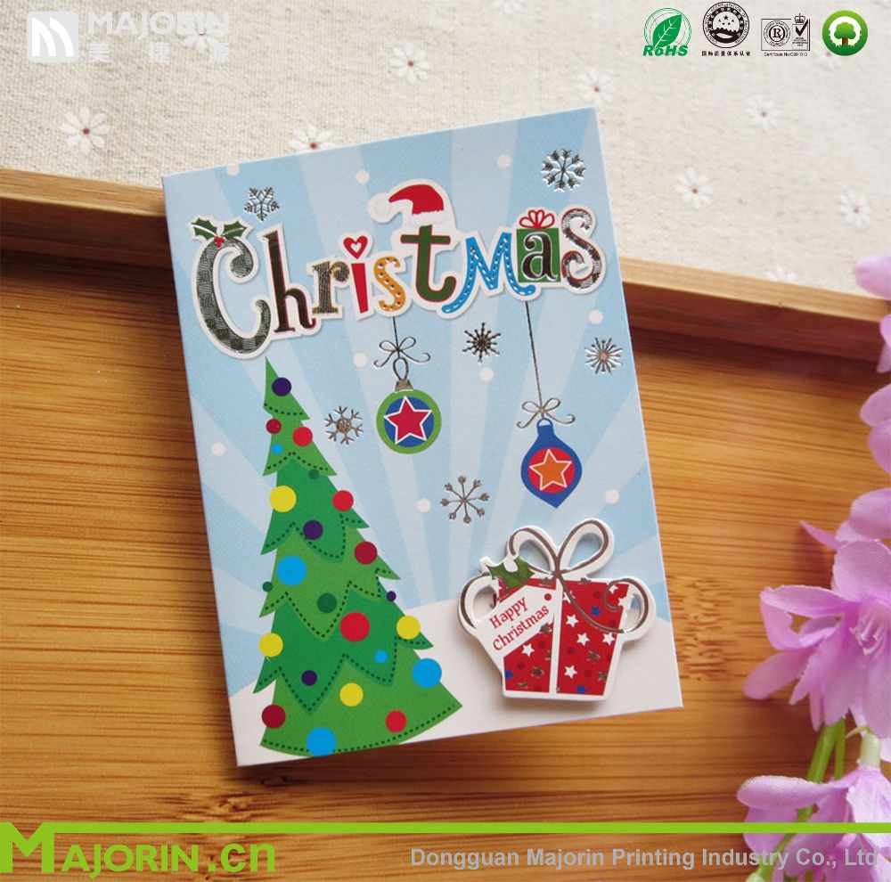 Merry Christmas Card,Christmas Greeting Card New Arrival