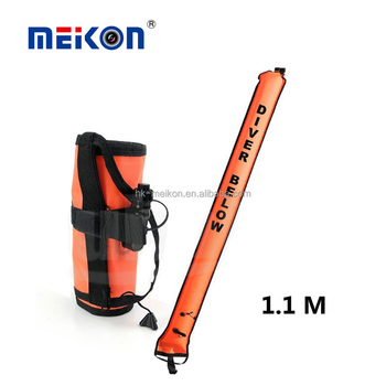 inflatable dive scuba safty 1.1 meter floating diving marker buoy