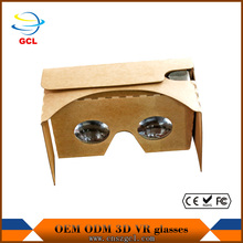 9d vr egg cinema custom logo google cardboard fpv video glasses 9d vr egg cinema