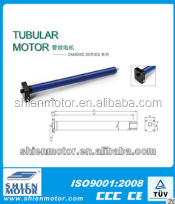 45mm 20N.m/15r radio with manual rolling shutter tube motor