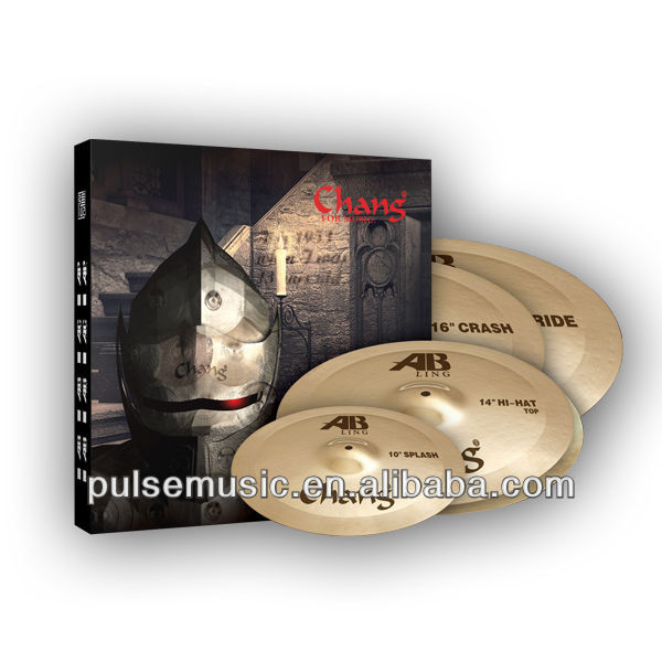 High quality Chang Asia Ling cymbal set for musical instrument