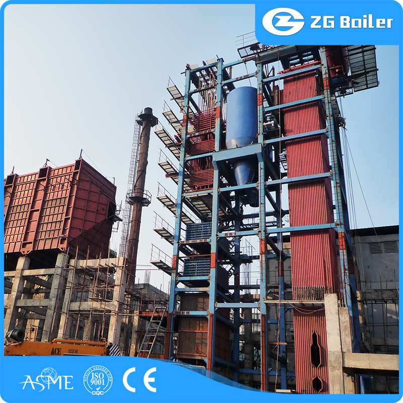 ZG 280t 9.81MPa High Pressure CFBC Utility Steam Boiler