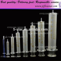 injection tools Hypodermic Syringe glass irrigation syringe