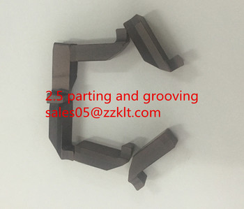 carbide inserts parting and grooving special design 2.5size zhuzhou kelite