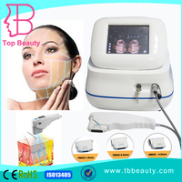high intensity frequency ultrasound hifu skin tightening lifting machine