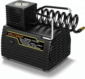 NEW design FTC-120 DC12V 24 hours continuous working air pump inflator