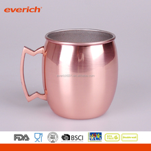 Everich customized stainless steel moscow mule copper mugs