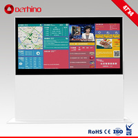 lcd screen signage kiosk