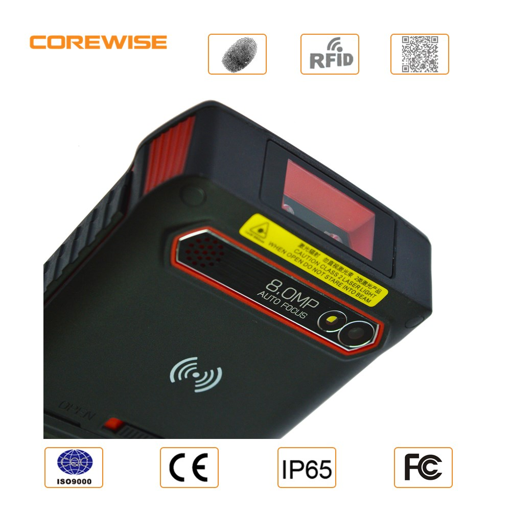 Bluetooth Wifi 4G LTE Android 6.0 Industrial 2d biometric fingerprint qr code scanner module