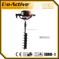 CE EMC approved 52cc portable hole auger digging tool machine