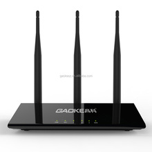 3 antennas wifi router covering 300 meters long range wifi hotspot