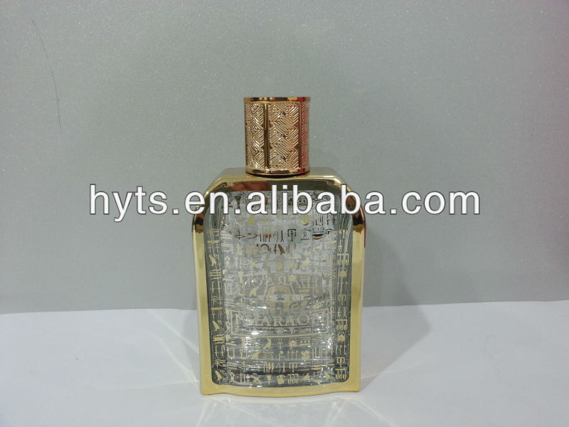 100ml new perfume bottle with UV engraving